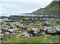 C9444 : An area of rock pools next to the path to Giant's Causeway by Humphrey Bolton