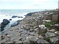 C9444 : On the basalt platform, Giant's Causeway by Humphrey Bolton
