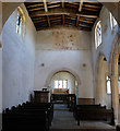 TF0336 : Church of St. Barbara:  Nave and Chancel Arch by Bob Harvey