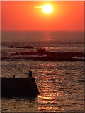 SW3526 : The end of another perfect Sennen day by Rod Allday