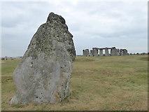 SU1242 : The Heel Stone at Stonehenge by Rod Allday