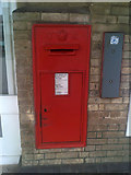 TM1543 : Railway Station Victorian Postbox by Adrian Cable