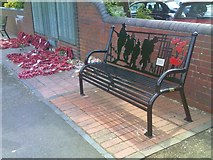 SO9596 : Cenotaph Benchs by Gordon Griffiths