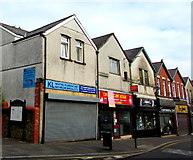 ST1599 : KL on a Bargoed town centre corner by Jaggery