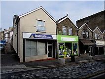 ST1599 : Towergate insurance office, Hanbury Road, Bargoed by Jaggery