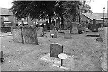 NS4927 : Mauchline Parish Church Graveyard by Billy McCrorie