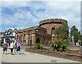 NY4055 : Carlisle Citadel, east tower by Alan Murray-Rust