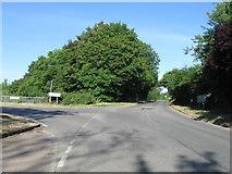 TL1055 : Road junction by Alex McGregor