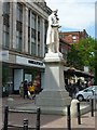 NY4055 : Statue of James Steel, English Street, Carlisle by Alan Murray-Rust