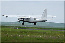 HY4851 : G-BLDV Departing for Kirkwall by Anne Burgess