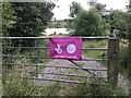 SJ7948 : Gate into Bateswood Country Park by Jonathan Hutchins