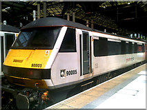 TQ3381 : Greater Anglia Train at Liverpool Street Railway Station by Adrian Cable