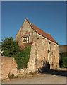 ST4849 : Outbuilding, Manor Farm by Derek Harper