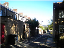 NZ2364 : Back alley behind York Street, Newcastle by Richard Vince