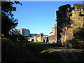 NZ2464 : West Walls, Newcastle (2) by Richard Vince
