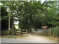 TQ4135 : Brambletye crossing, Forest Way by Malc McDonald
