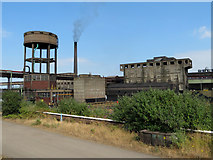 SE9111 : Scunthorpe Steelworks by Gareth James