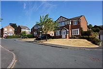 SE2837 : Sycamore Close towards Woodside Avenue, Leeds by Ian S