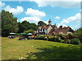 TQ4627 : Duddleswell Tea Room, Ashdown Forest by Malc McDonald