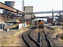 SE9110 : Scunthorpe Steelworks by Gareth James