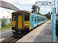 ST2196 : Train at Newbridge by Gareth James