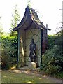 SK4924 : Chinese Garden, Whatton House, pagoda by Alan Murray-Rust
