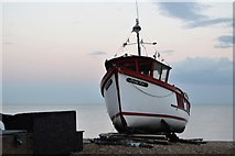 TR3752 : Boat on the beach by N Chadwick