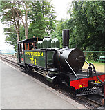 SS6846 : Woody Bay Station: locomotive 'Lyn' by Martin Bodman
