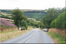 SS6744 : The A39 near Parracombe by Martin Bodman