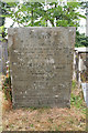 SS6744 : Parracombe: gravestone by Martin Bodman