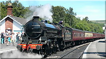 NZ8205 : Grosmont Station, North Yorkshire Moors Railway by Mark Percy