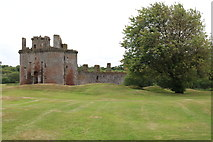 NY0265 : Caerlaverock Castle by Billy McCrorie