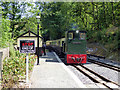 SN6878 : Diesel loco. No. 10 arriving at Aberffrwd with a passenger train by John Lucas