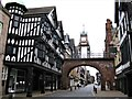 SJ4066 : Eastgate and Clock, Chester by G Laird