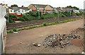 ST2077 : Railway, Cardiff by Derek Harper