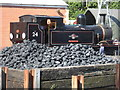 SZ5589 : Isle of wight steam Railway - preparing for the day by Chris Allen