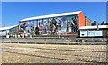 SJ8397 : Mural at the Museum by Des Blenkinsopp