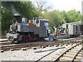 SJ8248 : Apedale Valley Light Railway - Tracks to the Trenches by Chris Allen