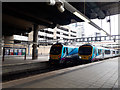 SJ8499 : Passing Transpennine Express trains at Victoria by Stephen Craven