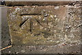 SP3481 : Benchmark on St Paul's Church by Roger Templeman