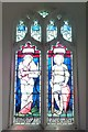 SO5663 : Window inside St. Andrew's Church (Nave | Leysters) by Fabian Musto