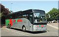 SX9164 : French coach, Torquay coach station by Derek Harper