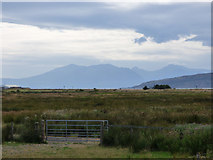 NS1851 : Arran from Hunterston by Thomas Nugent