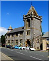 SX4853 : Former St Saviour's church hall, Lambhay Hill, Plymouth by Jaggery