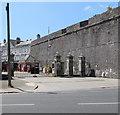 SX4853 : Royal Citadel entrance gates, Plymouth by Jaggery