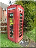 SU5985 : Telephone box by Weedon Close by Bill Nicholls