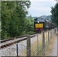 SK2861 : Peak railway. by steven ruffles