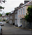 SN3860 : High Street, New Quay, Ceredigion by Jaggery