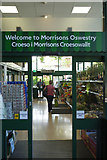 SJ2929 : Welcome to Morrisons Oswestry by Stephen McKay