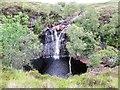 NC3713 : Lovely waterfall and pool on Abhainn Gleann na Muic by John Ferguson